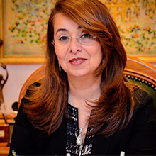 Her Excellency Dr Ghada Waly