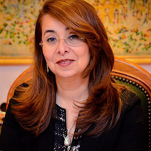 Her Excellency, Ghada Waly