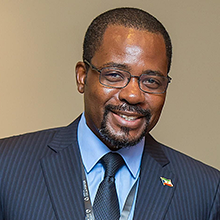 His Excellency Gabriel Mbaga Obiang Lima